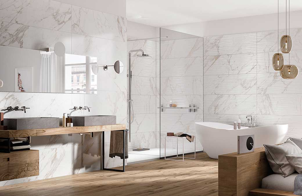 Ragno by #TERZOPIANO || adv image for italian ceramic tiles