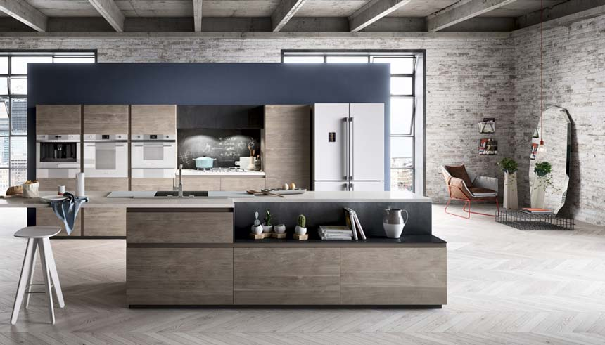 @TerzoPiano - Smeg - Linea Estetica - industrial loft