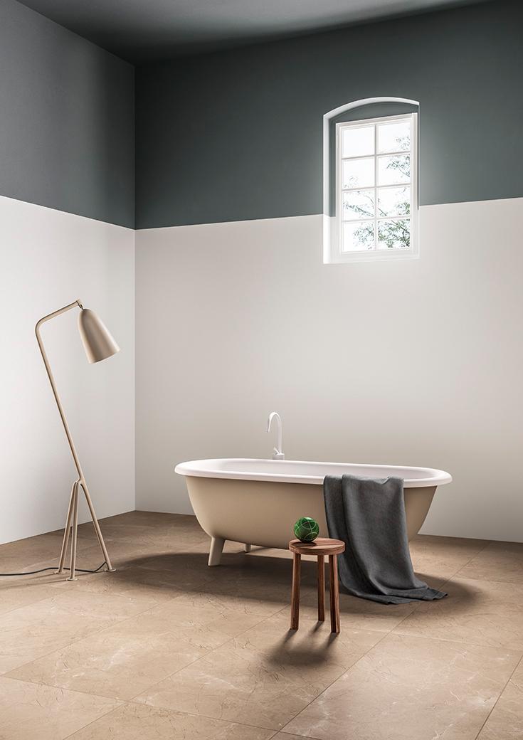 Elegant bathroom || image TERZOPIANO || clients: Graniti Fiandre