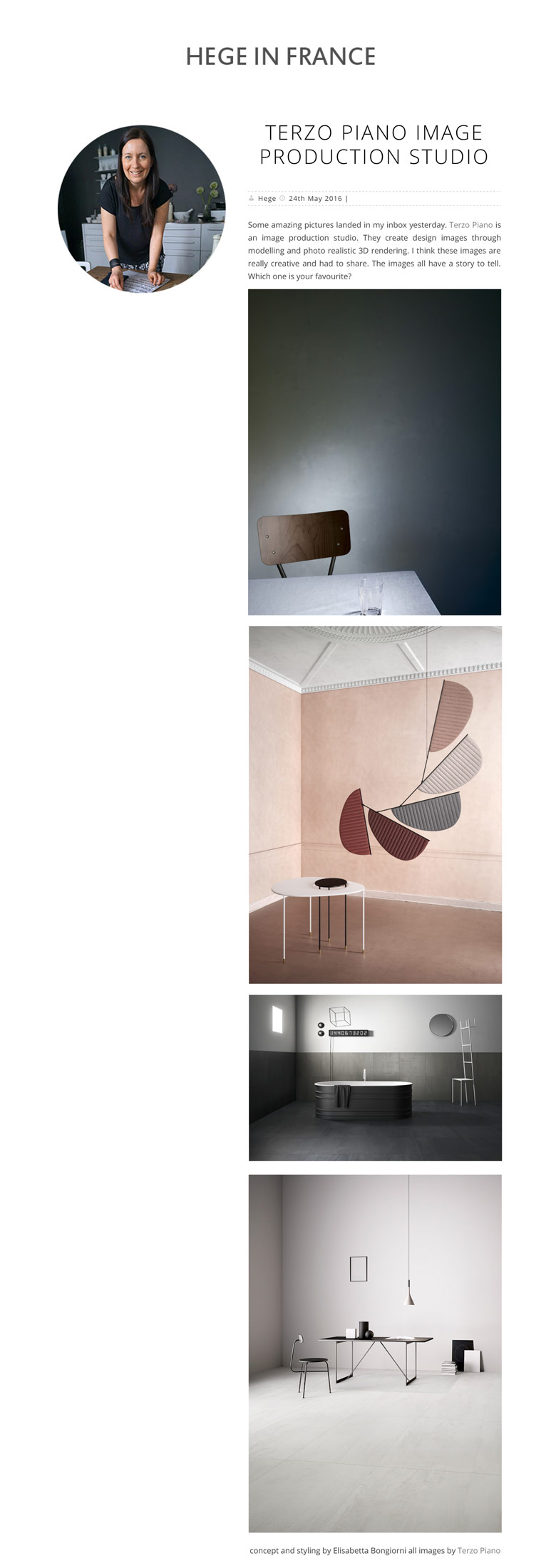 HEGE IN FRANCE about @terzopiano    #INTERIORDETAILS project