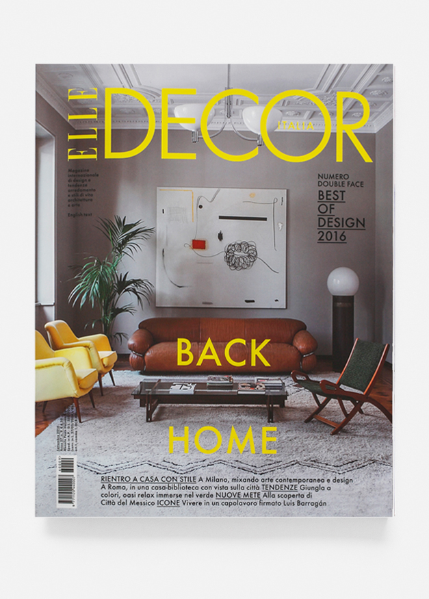 Elle Decor Italia 09/16 || Cover