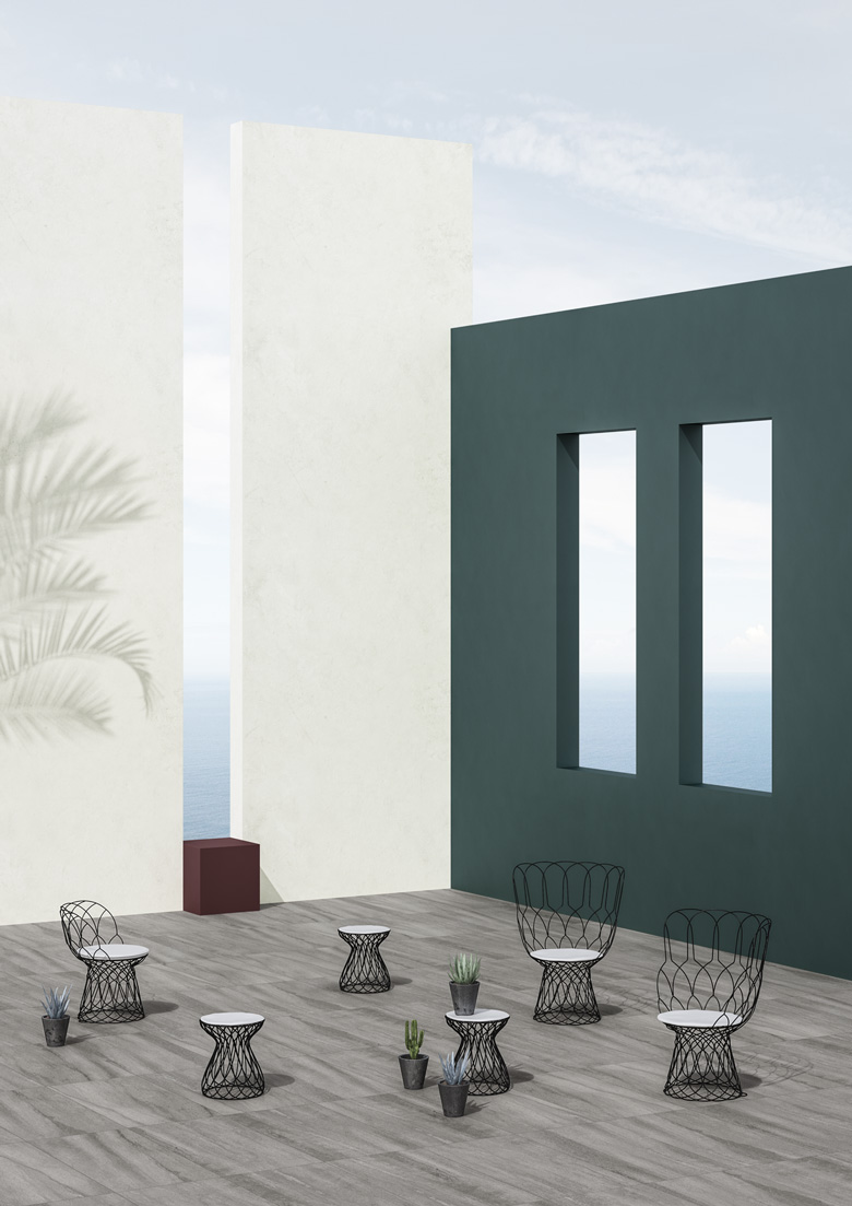 #TERZOPIANO image for #GranitFiandre || #NeoGenesis collection || set design #TERZOPIANO
