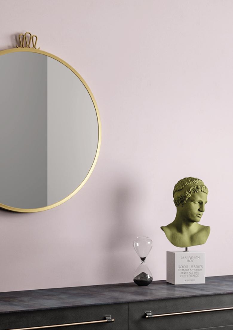 #TERZOPIANO portfolio || #Interiors at first sight || #pink detail #sculpture
