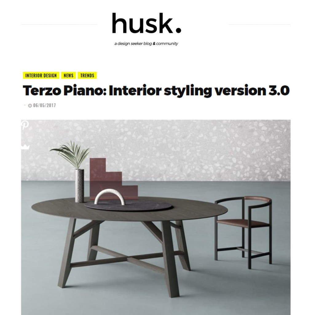 TERZO PIANO IMAGES FEATURED ON HUSK DESIGN BLOG