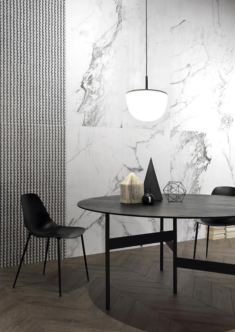 #terzopiano at #Cersaie interior styling for #ceramichefioranese || THANKS TO #fontanaarte #livingdivani #opinionciatti