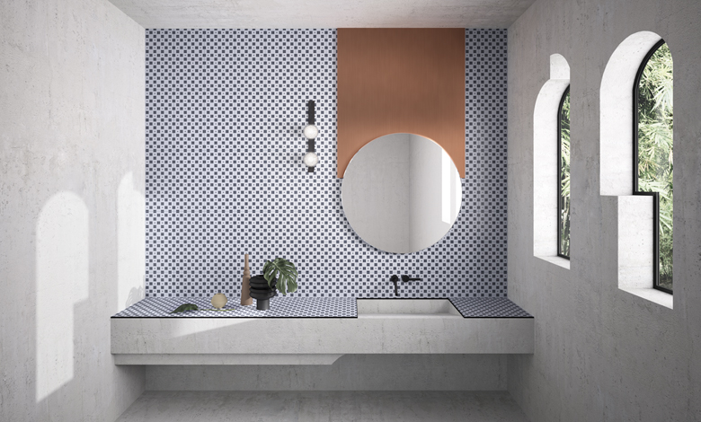 #CeramicaVogue - House of Tiles, 2018 - Architecture by #MarcanteTesta UdA - Image by #TerzoPiano - #bathroom