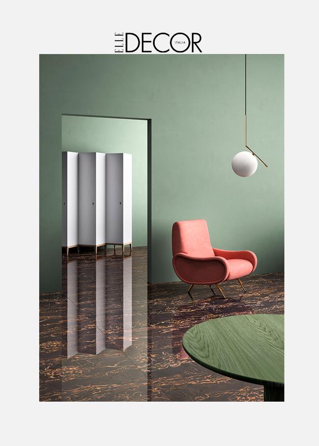Elle Decor Italia || Color Trend 2018 #verdesalvia #TerzoPiano image