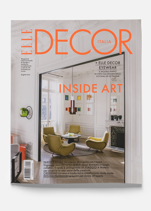 cover elle decor marzo 2018