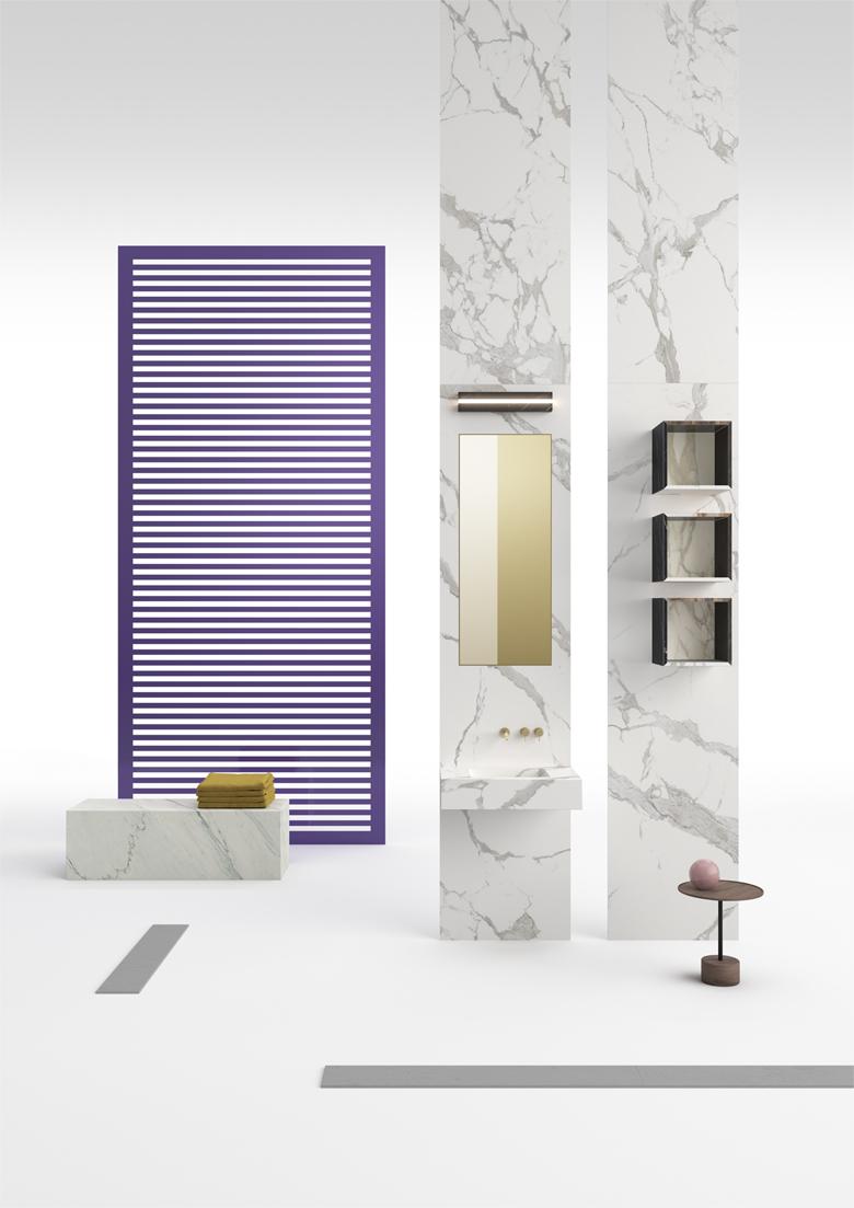 TerzoPiano for #GranitiFiandre - Furniture application for ceramic slabs