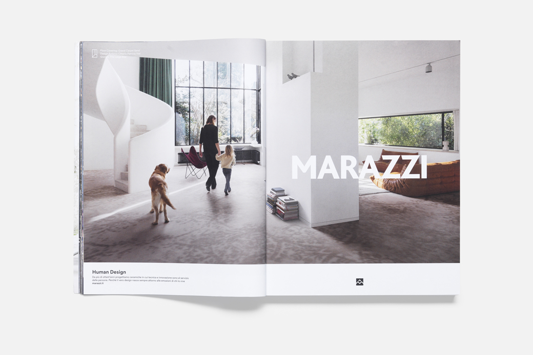 Terzo Piano photomontage for Human Design Campaign by Marazzi - AD Studio Blanco