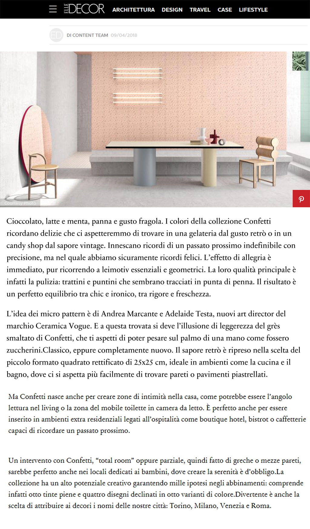 terzo piano images elle decor italy confetti vogue art direction marcante testa 01
