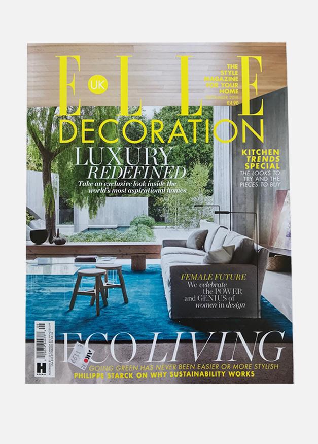 Elle Decor UK | September 18 | Cover