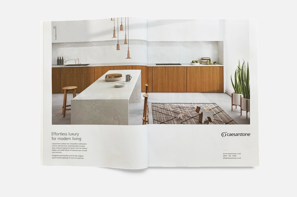 Elle Decor UK | September 18 | adv Caesarstone by Terzo Piano