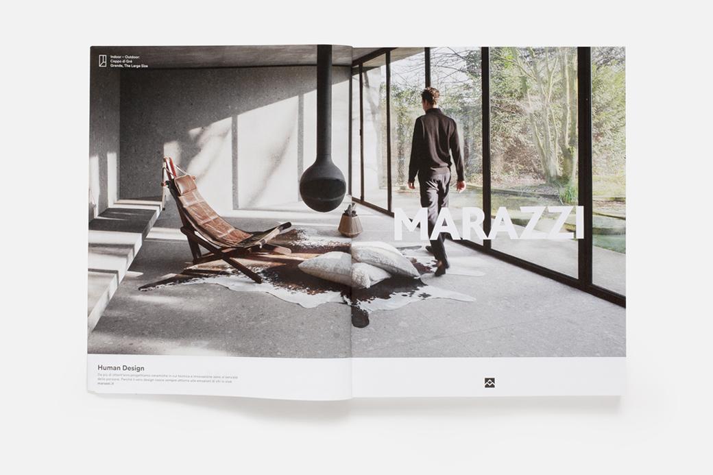 Terzo Piano photomontage for Human Design Campaign by Marazzi - AD Studio Blanco