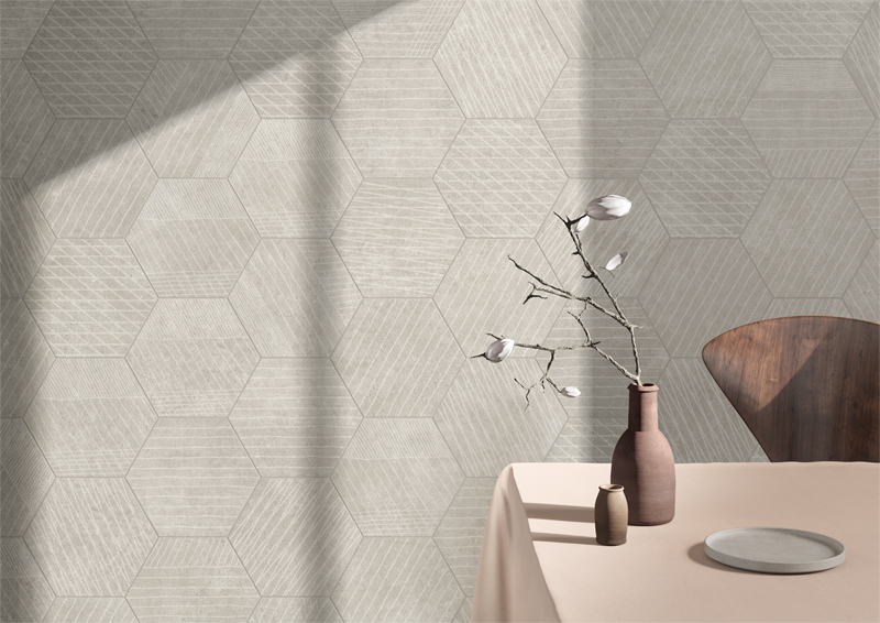 #TERZOPIANO image for #VitrA ceramic tiles | #Cersaie2018 | #ColorCode