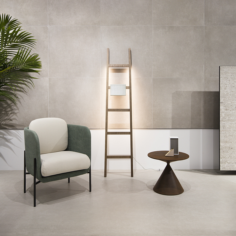 #Cersaie 2018 - #VitrA ceramic tiles - Set-up project by #TerzoPiano