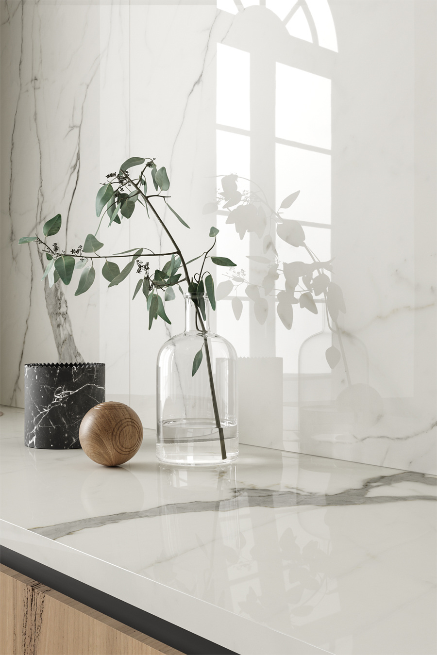 Vanity collection by #CottoDEste - images by #TerzoPiano - #marble classic beauty