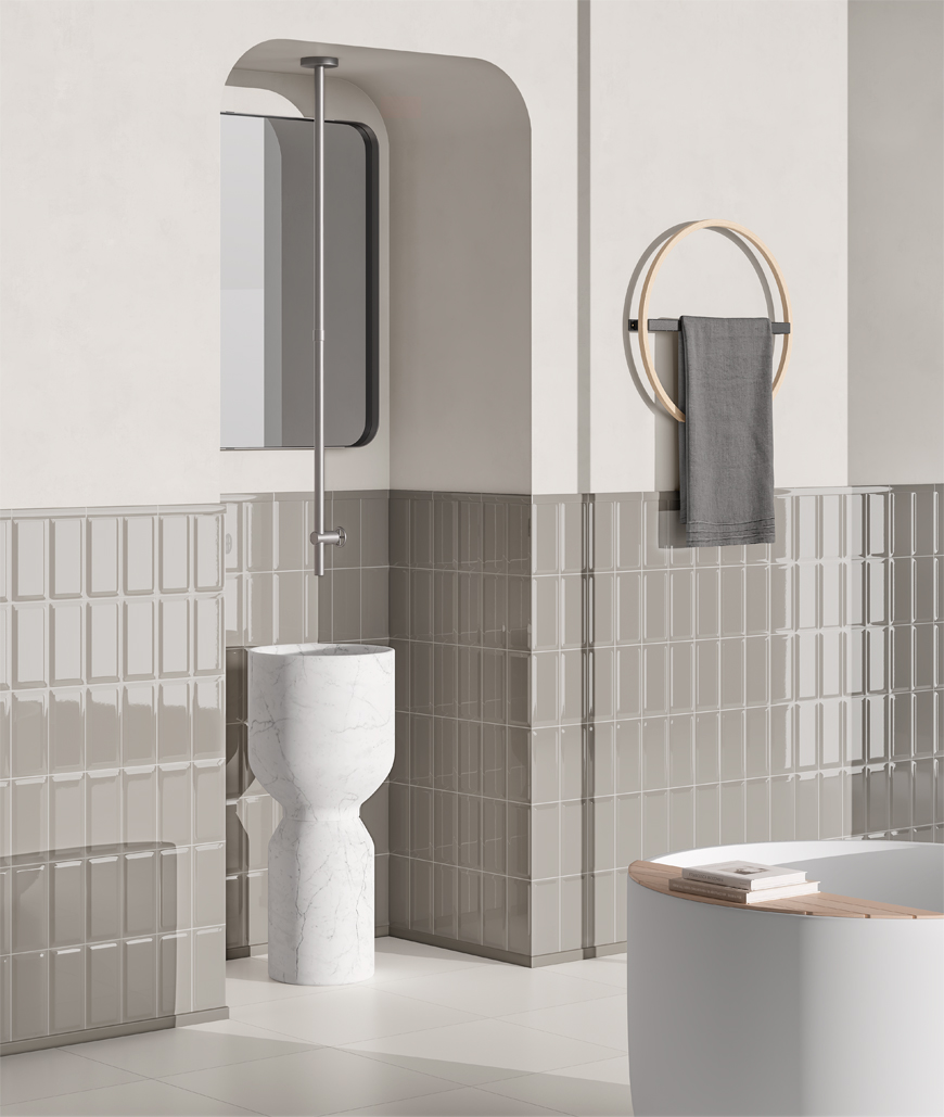 Ceramica Vogue | Bisello Art Direction: Marcante-Testa Styling and image production: Terzo Piano