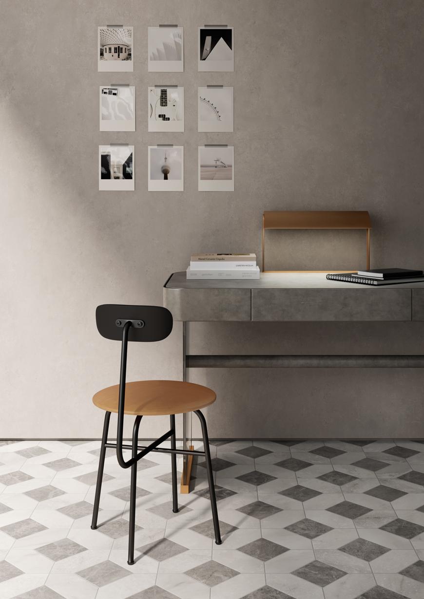 Terzo Piano x Ceramiche Candia | Marble Art| Home office