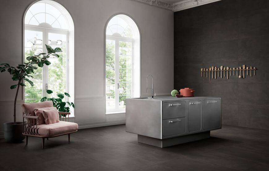 Terzo Piano x Ceramiche Candia | Metal Art | #industrial #kitchen