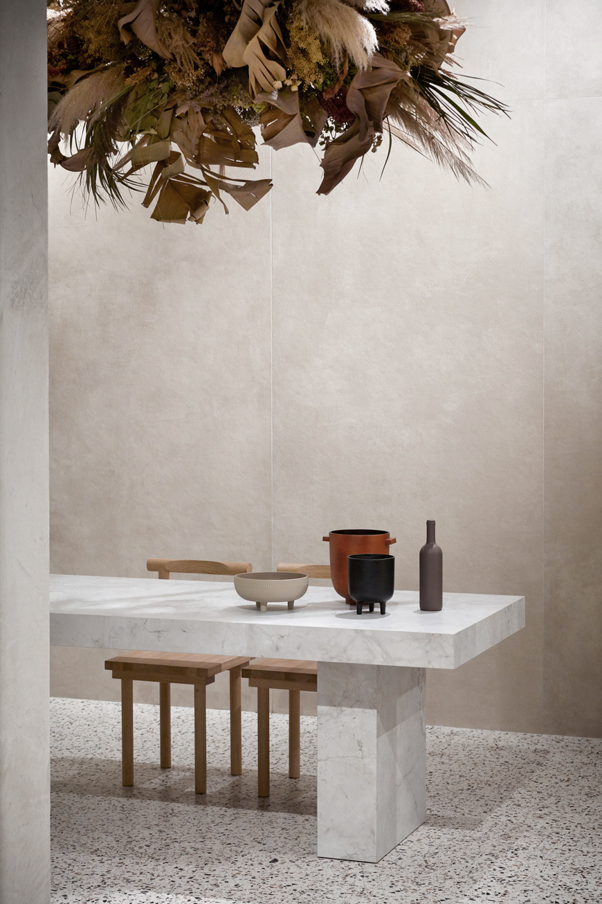 Terzo Piano Set Up for Casa del Conca - Cersaie 2019 (01)