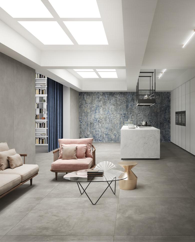 Terzo Piano_Del Conca_Living_Kitchen