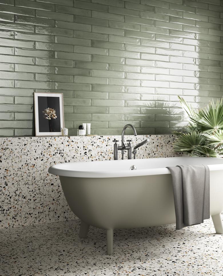 Terzo Piano_Faetano_Green Bathroom