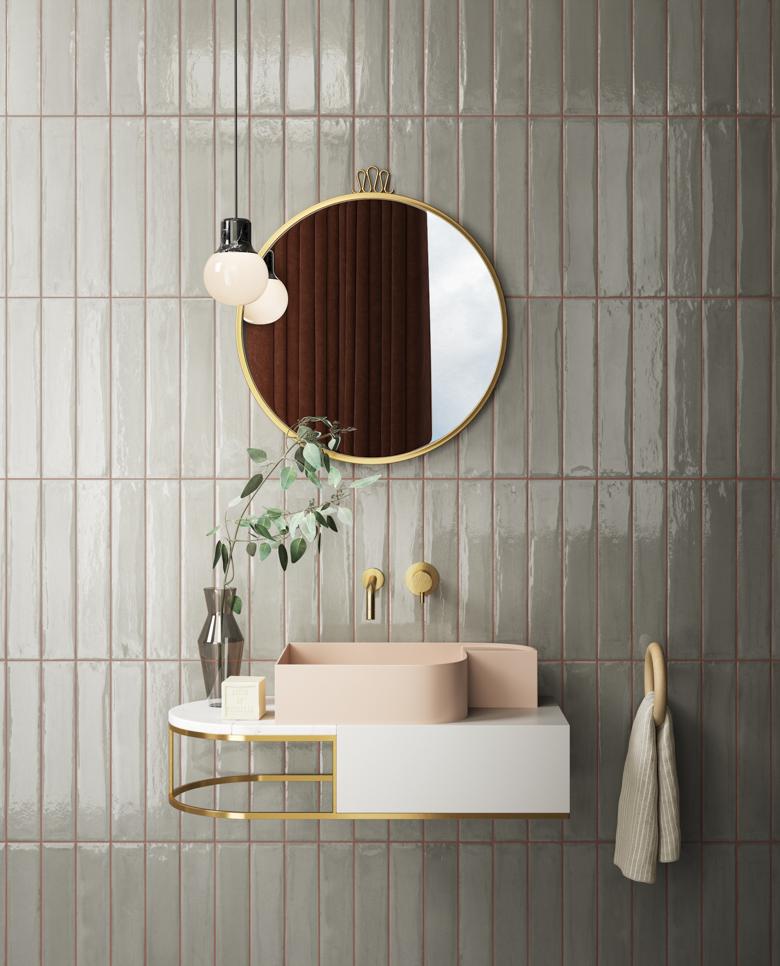 Terzo Piano_Faetano_Pink Grey Bathroom