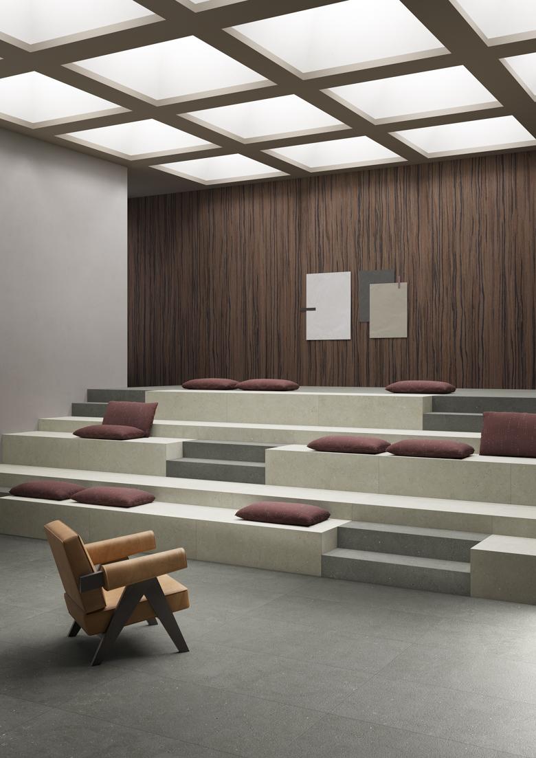 Terzo Piano_Graniti Fiandre_Solida_Auditorium