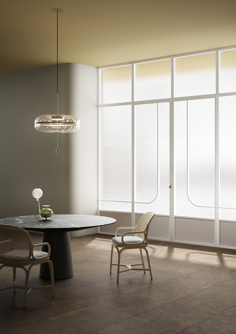Terzo Piano_Graniti Fiandre_Solida_Dining