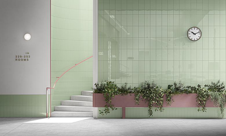 Terzo Piano_Ceramica Vogue_System_Hotel
