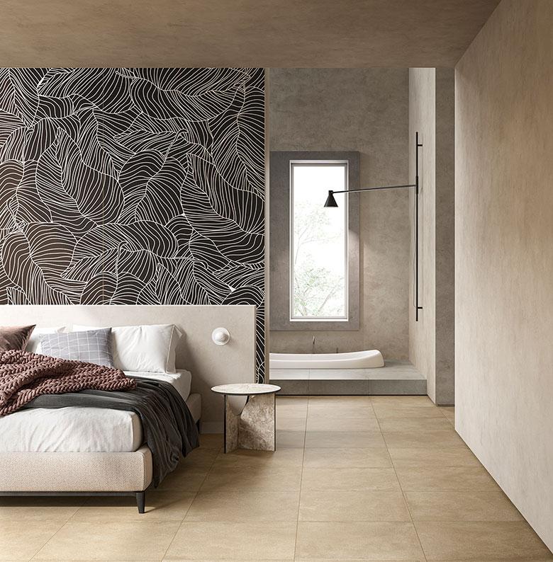 Terzo Piano Art Direction x Graniti Fiandre // project Roc de Bourgogne / bedroom