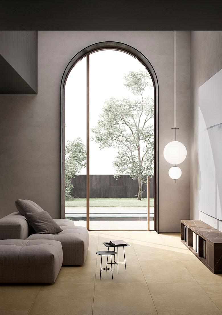 Terzo Piano Art Direction x Graniti Fiandre // project Roc de Bourgogne / Living