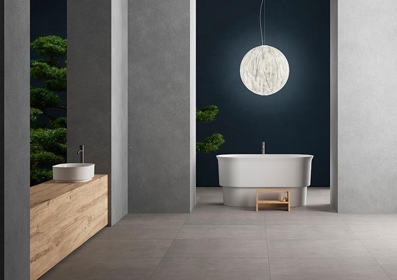 Graniti Fiandre - Bathroom - #TerzoPiano art direction and image realization