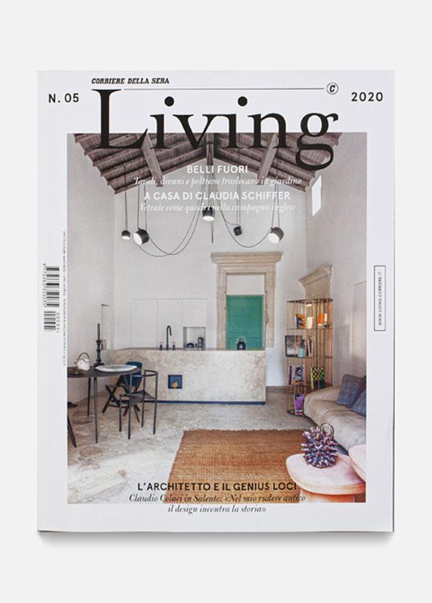Maggio 2020 Living Corriere - Cover