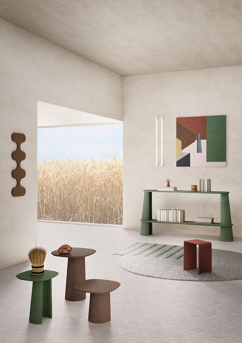FORMA E CEMENTO PROGETTO STUDIO IRWINE STYLING IMAGES REALIZATION TERZO PIANO