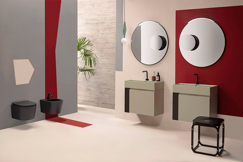 Ceramica Globo-Plain-styling Terzo Piano