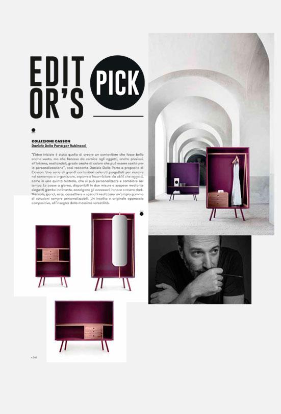 Contract book - Rubinacci - Terzo Piano styling - settembre 2020
