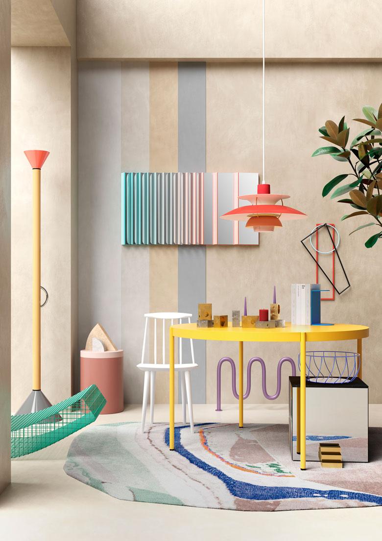 Equilibrio dei contrasti - Terzo Piano - portfolio 2020 - colors