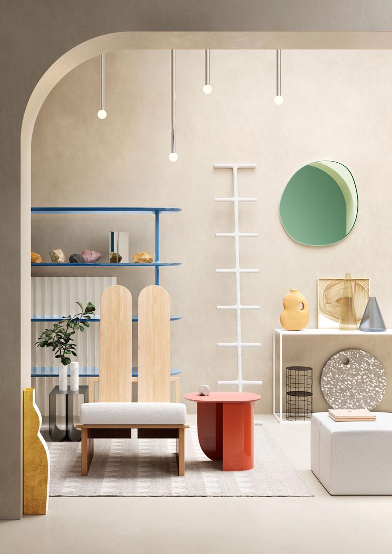 Equilibrio dei contrasti - Terzo Piano - portfolio 2020 - materials