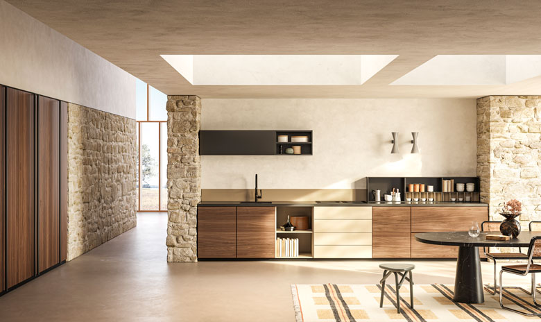 Toncelli kitchen Systema / Art Direction ar-o-studio / 3D Art Terzo Piano