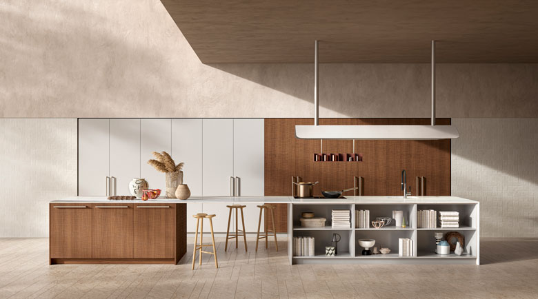 Toncelli kitchen Sistema / Art Direction ar-o-studio / 3D Art Terzo Piano