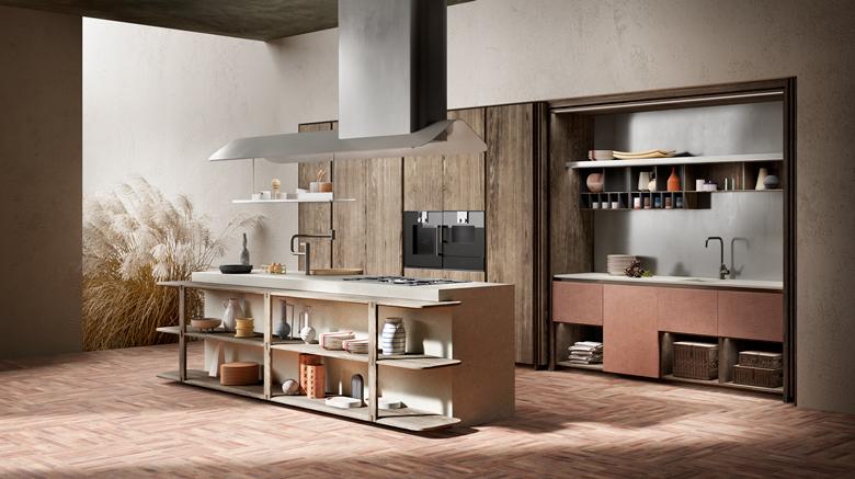 Terzo Piano for Toncelli Pinea Kitchen by A. Steidl - AD A.rò Studio