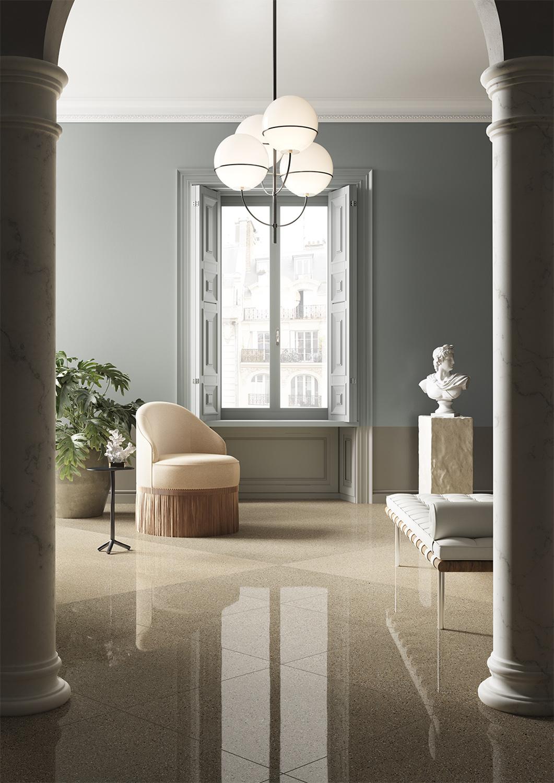 Terzo Piano art direction for Graniti Fiandre / classical living
