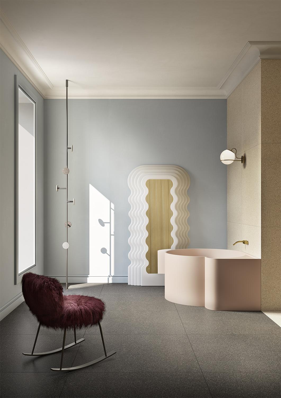 Terzo Piano art direction for Graniti Fiandre / modern bathroom