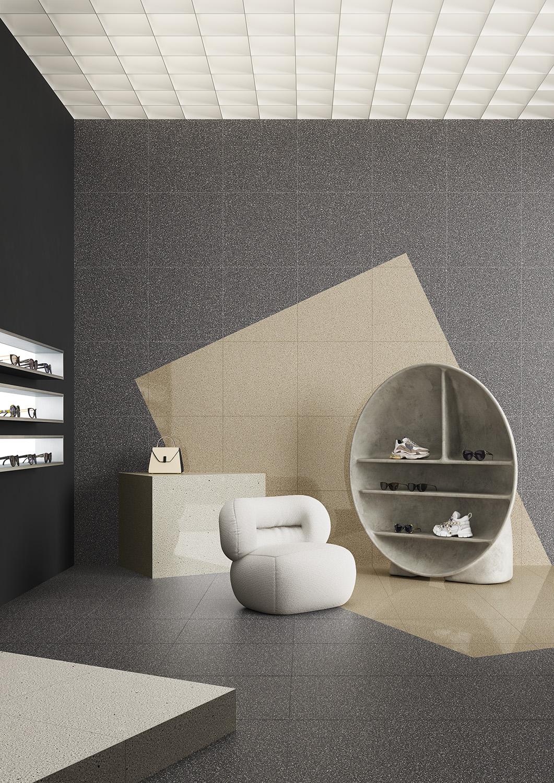 Terzo Piano art direction for Graniti Fiandre / modern shop