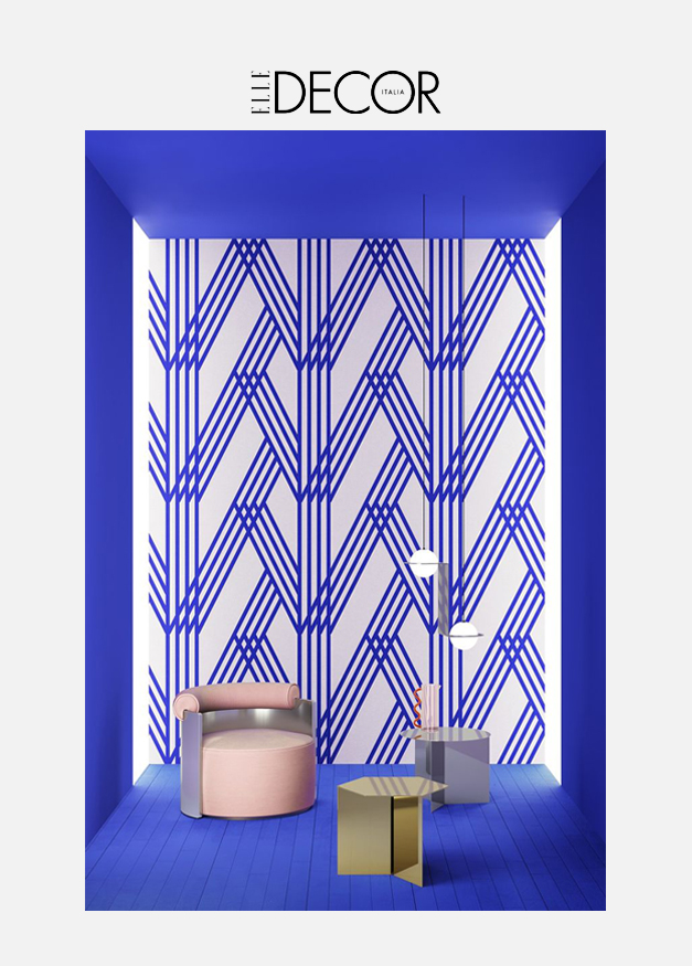Elle Decor - Design Gallery 5 marzo 2021 / Terzo Piano Graphic Manifesto