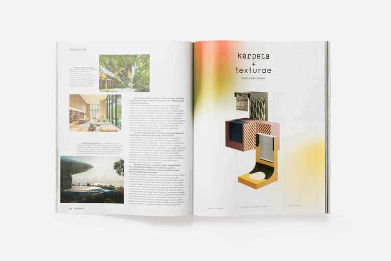 Elle Decor Aprile 2021 - Karpeta + Texturae ADV - Terzo Piano realization