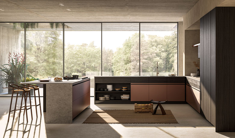 Terzo Piano image realization for Toncelli / Essence kitchen system