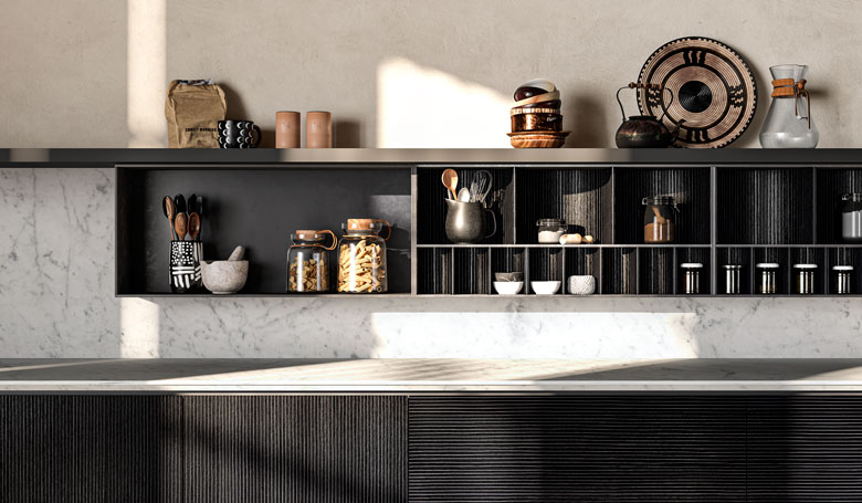 Terzo Piano image realization for Toncelli / Wind kitchen system